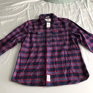 Abercrombie & Fitch XXL muscle fit flannel shirt